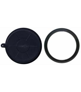 Hatch round 10 cm, rubber