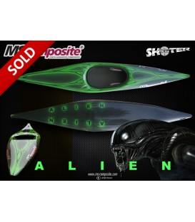 KSL SHOOTER with design ALIEN GREEN